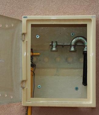 Bezpieczne przyłącze gazu ziemnego