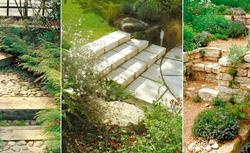 Jak dzięki schodom aranżacja ogrodu stanie się bardziej atrakcyjna. ZDJĘCIA