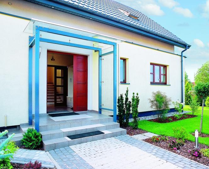 Drzwi zewnętrzne - prawidłowo zamontowane