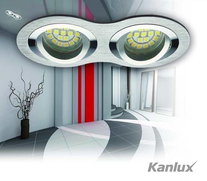 Oprawy firmy Kanlux, do oświetlenia punktowego