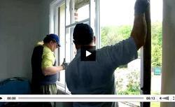 Wymiana starych okien drewnianych na okna PCV