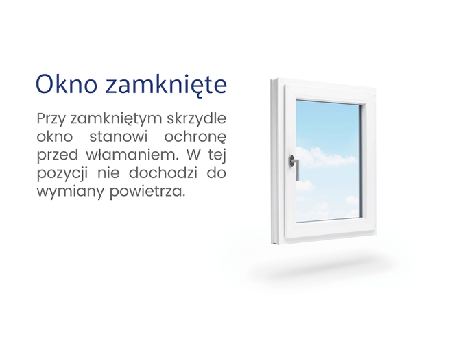 Okno zamknięte