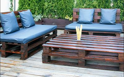 Czym pomalować meble ogrodowe z palet