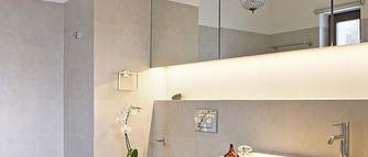 Oświetlenie łazienkowe LED. Pomysły na diody LED w aranżacjach łazienkowych
