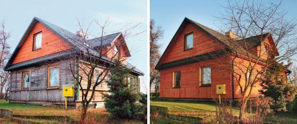 Ocieplenie starego domu drewnianego od zewnątrz