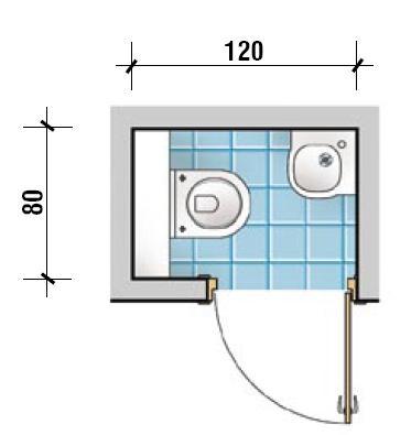Planowanie przestrzeni małej łazienki - propozycje projektów