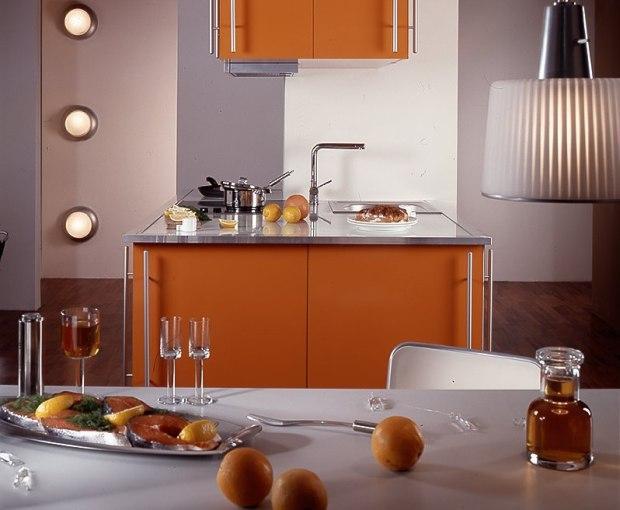 Wyspa w kuchni - funkcjonalny projekt kuchni